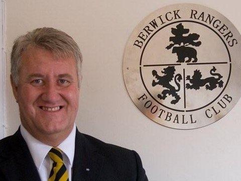 Brian Porteous, Chairman of Berwick Rangers FC