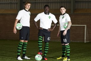 Celtic unveil new strip  d80ee00c7